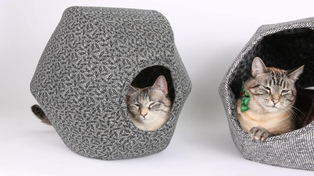 Made in USA Cat Supplies: The Cat Ball® cat bed is handmade in Washington state.  Coupon code: USALOVEGives 15% discount, valid through March 30, 2022Good for a customer's single use