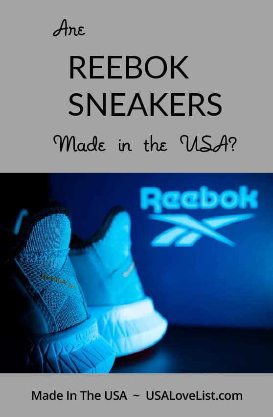 Are Reebok sneakers made in the USA? You might be surprised by the answer!