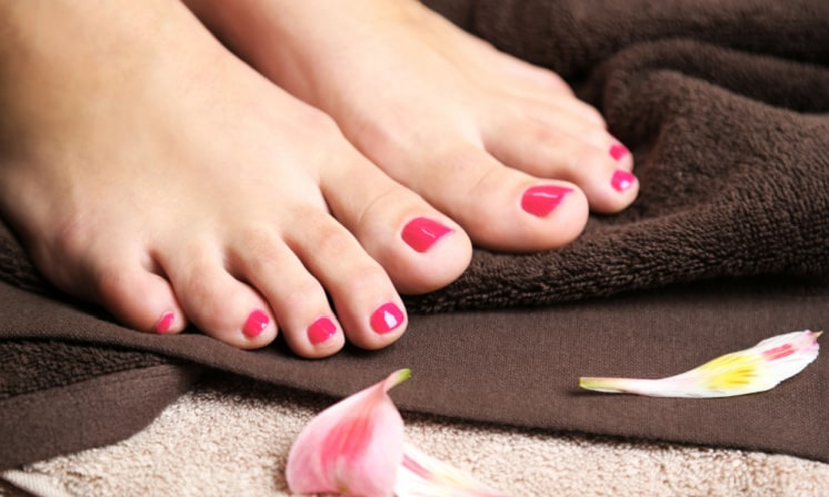 A DIY All Natural Pedicure – 3 Easy Pedicure Steps with Made in USA Products
