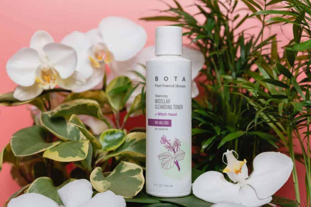 BOTA Cleansing Miceller Toner - CBD Skincare - Made in USA