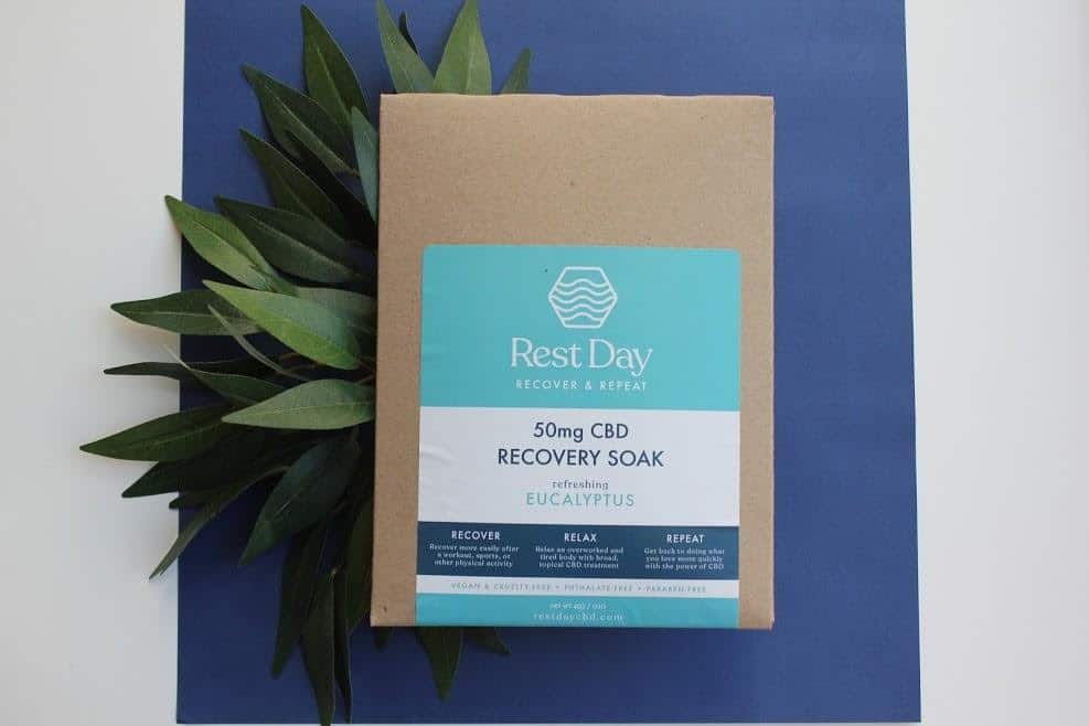CBD Beauty - Rest Day Recovery Soak - Made in USA