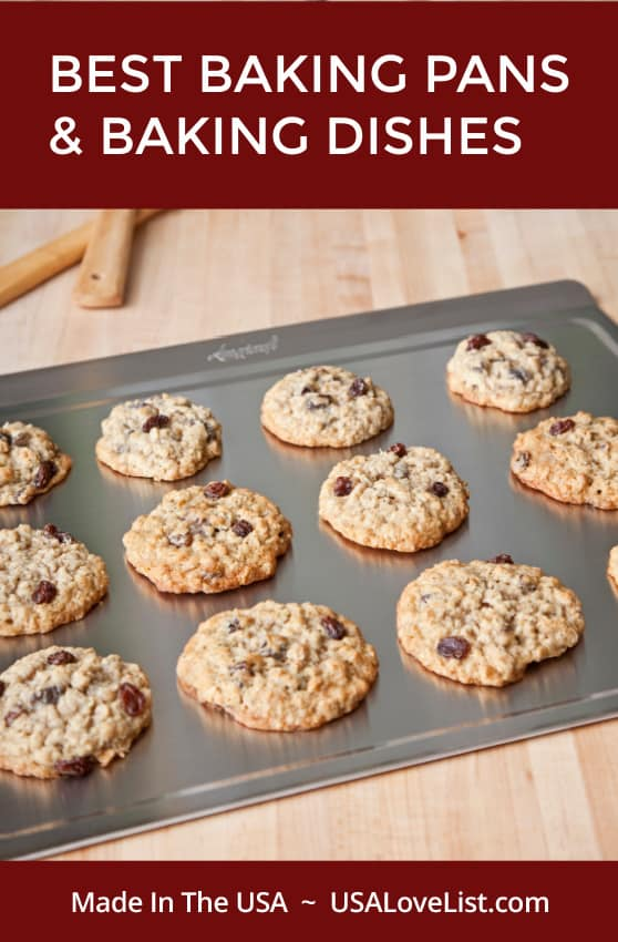 Best baking pans & baking dishes made in USA featuring 360 Bakeware