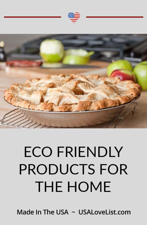Eco Friendly Products for the Home via USA Love List featuring Liberty Tabletop and 360 Cookware #usalovelisted #madeinUSA
