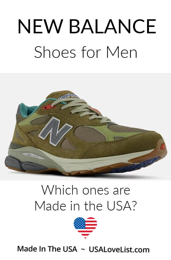 New balance shoes for Men, made in the USA #shoes #footwear #usalovelisted