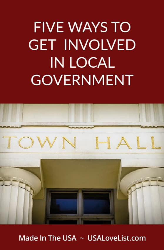 How to get involved in local government- Make a difference in your community.