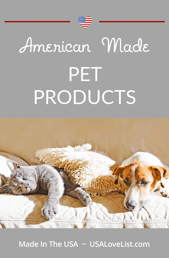 Our Ultimate Source List for American Made Pet Products via USAlovelist.com