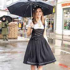 Celebrate Oktoberfest at Home with American made items: Rare Drndl women's clothing